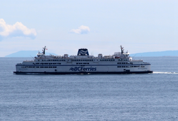 De ferry naar Vancouver Island