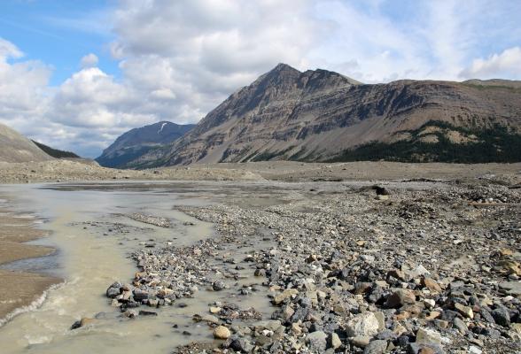 Gletsjerwandeling Athabasca Glacier Canada