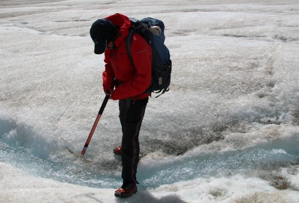 Gletsjerwandeling Jasper Canada