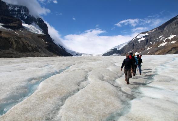 Gletsjerwandeling met Icewalks in Canada