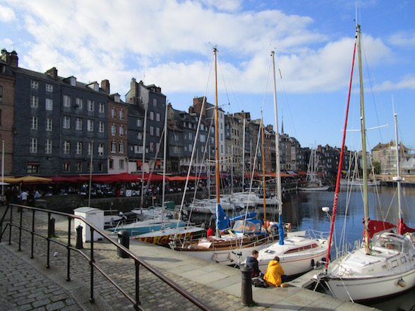 Honfleur haven