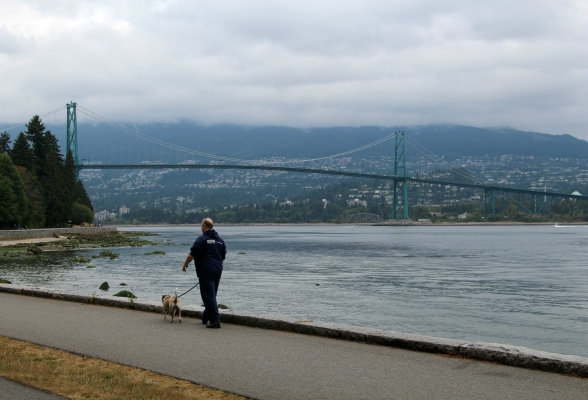 Lions Gate Bridge in Vancouver, Canada