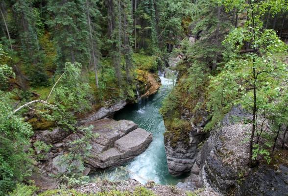 Maligne Canyon Jasper Canada