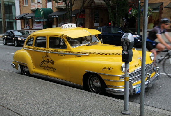 Taxi in Vancouver, Canada