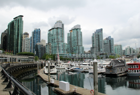 Coal Harbour in Vancouver, Canada
