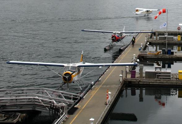 Watervliegtuigen Vancouver Canada
