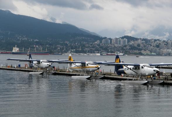Watervliegtuigen in Vancouver