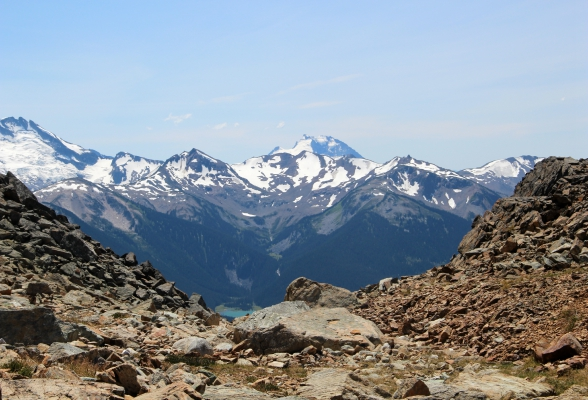 Reisroute West-Canada Whistler