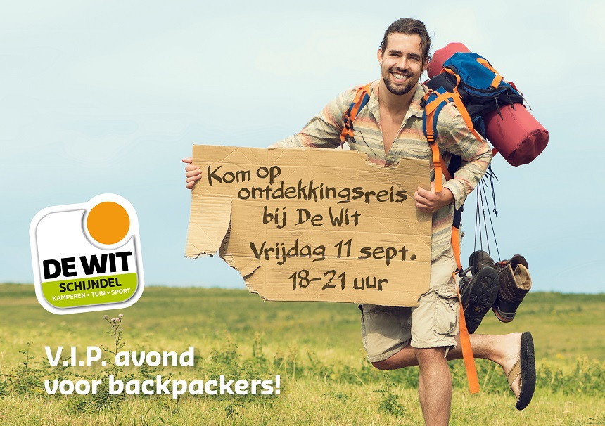 backpackers avond