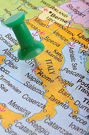 italie map