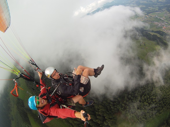 paragliden alpen