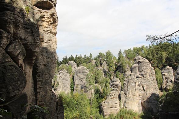 Klimmen is populair in het sprookjesachtige Boheemse Paradijs