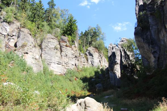 Cesky Raj natuurpark in Tsjechie