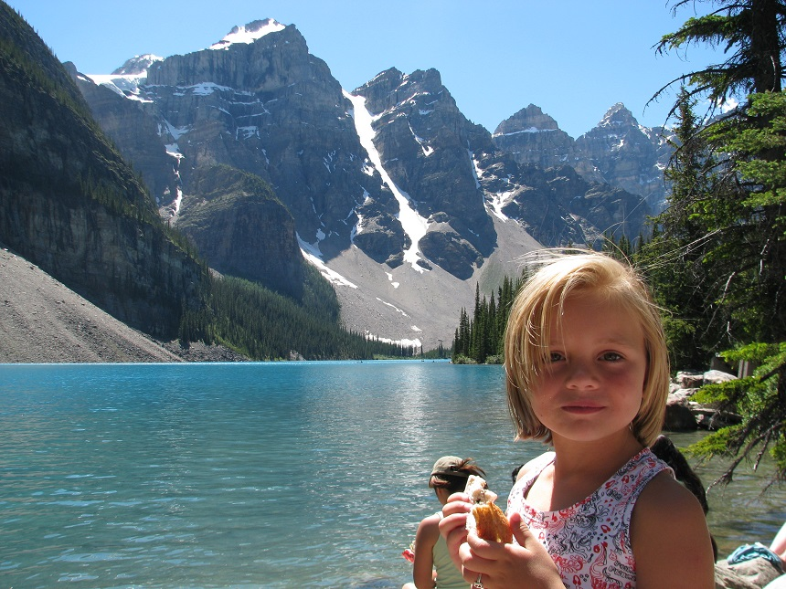 Banff NP blauwe meren