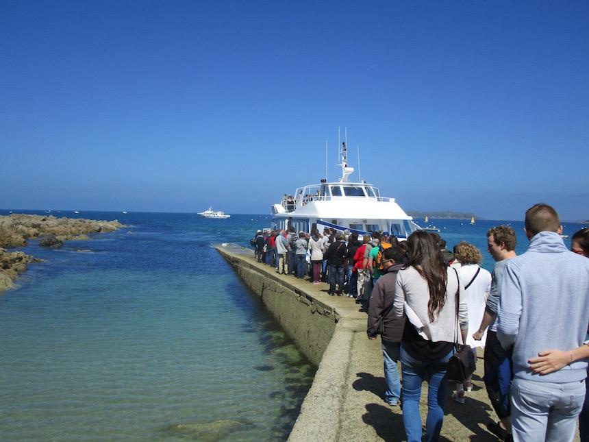 Boottocht Les Sept Îles