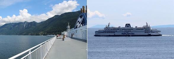 Ferry naar Vancouver Island