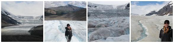 Gletsjerwandeling in Canada