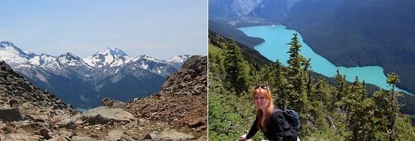 Wandelen in Whistler tijdens mijn rondreis door West-Canada
