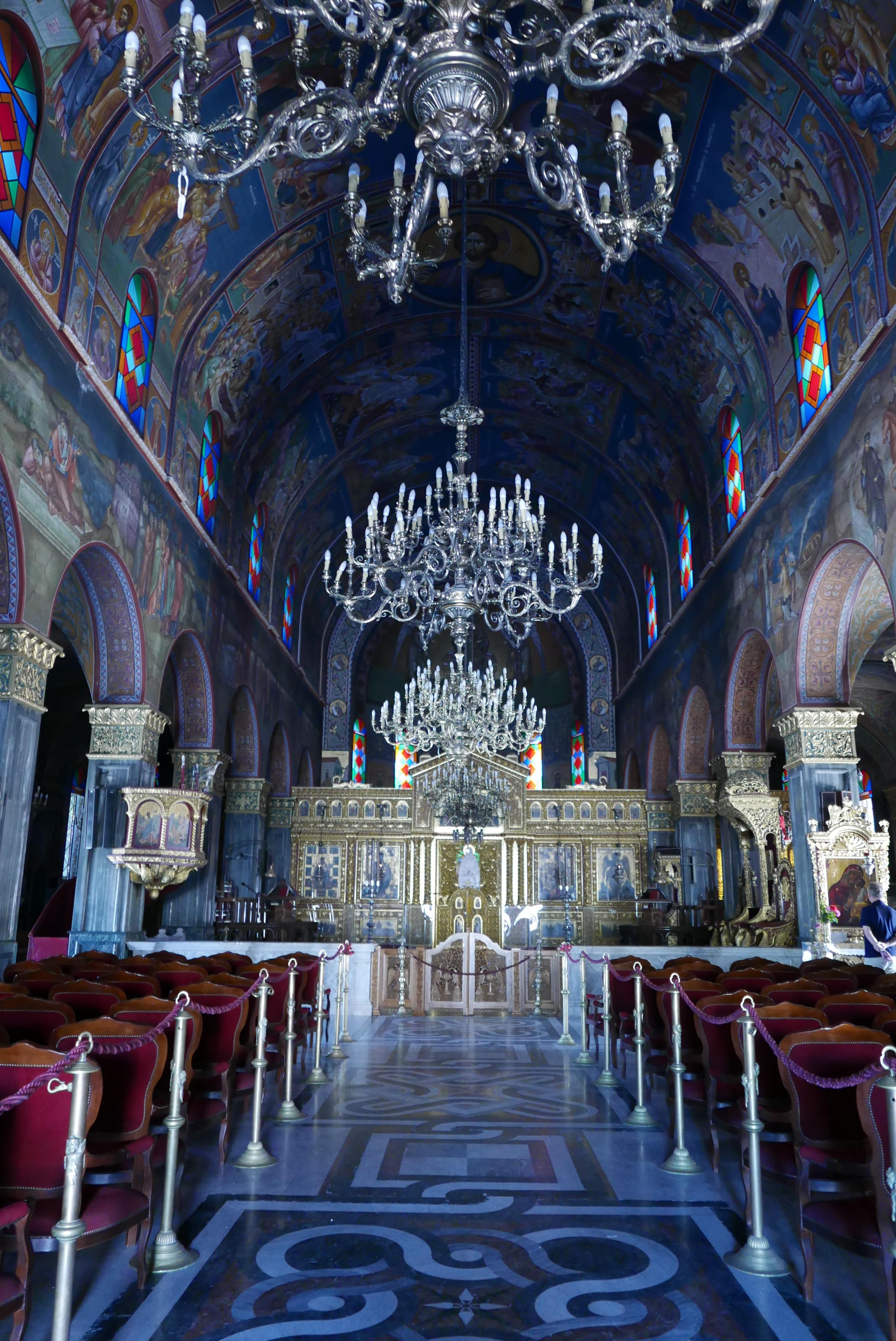 Kerk Zakynthos stad
