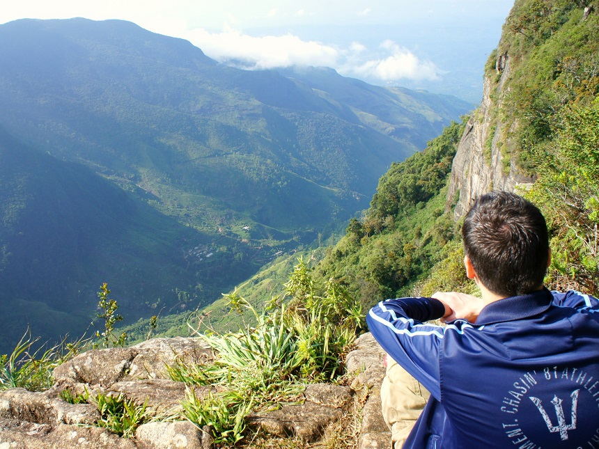 Sri Lanka hike uitzicht
