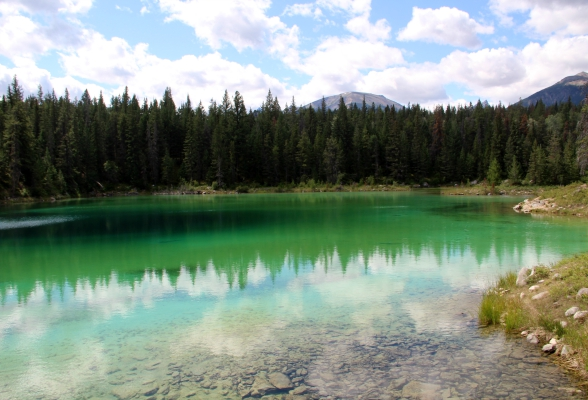 Valley of the Five Lakes in Jasper National Park