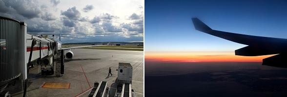 Vlucht met Air Transat naar Canada