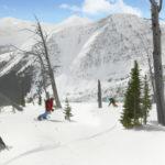 Wintersport in de Rocky Mountains
