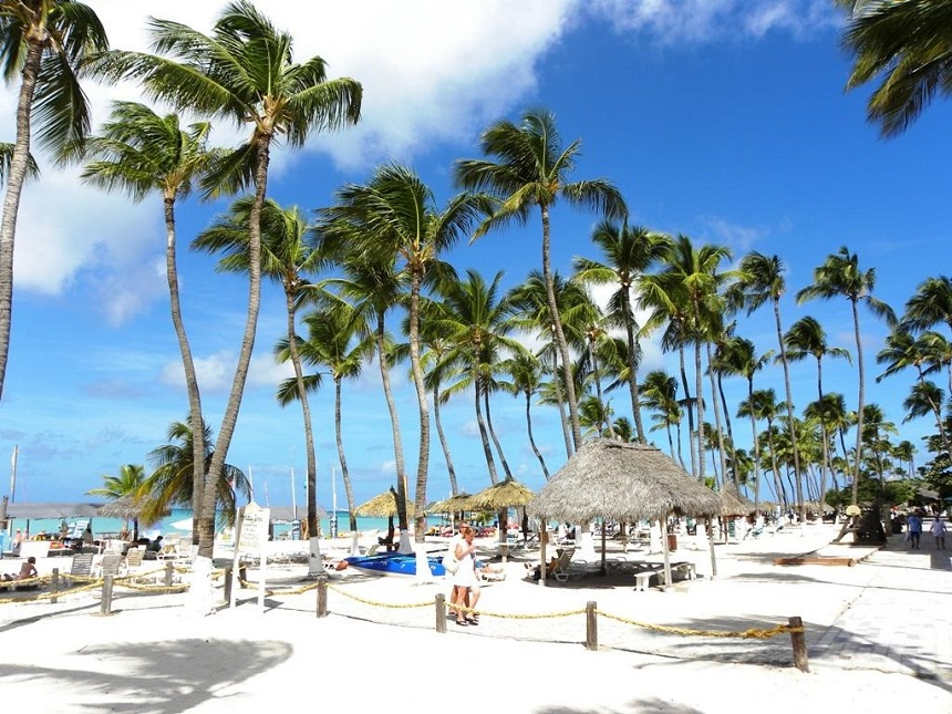 Palm Beach is de populairste badplaats van Aruba.