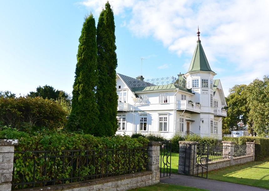 Karakteristieke huizen Zweden
