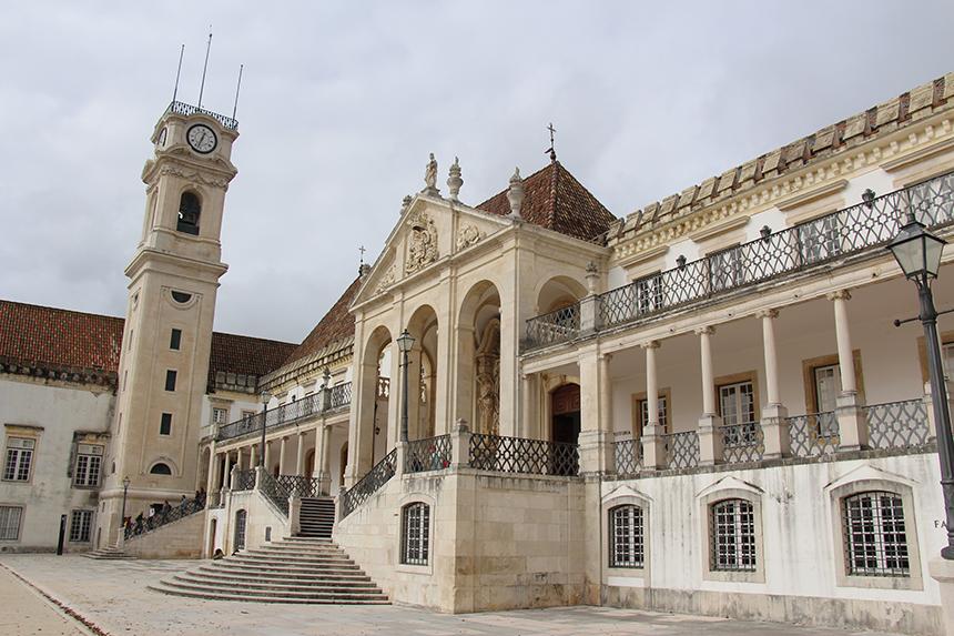 Coimbra, de grootste stad van Centro de Portugal