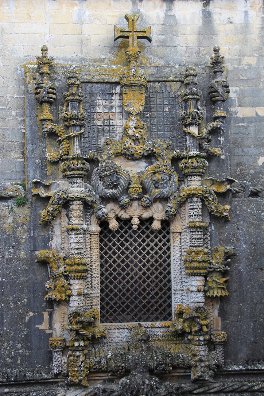 het beroemde venster van Tomar