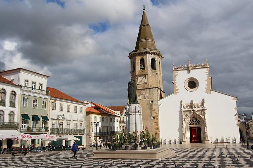 het centrale plein van Tomar