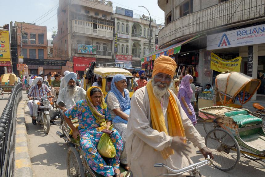 Amritsar. De stad van de Sikhs