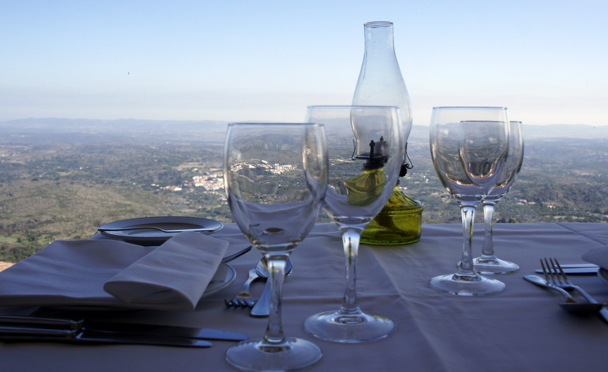 Stel je voor te dineren met een uitzicht als dit