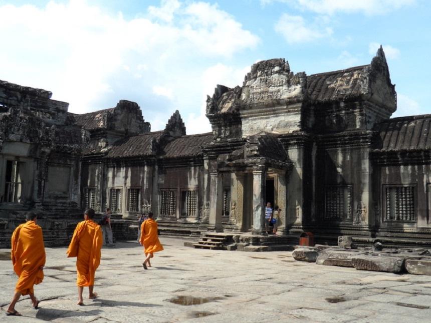 Monniken Angkor Wat