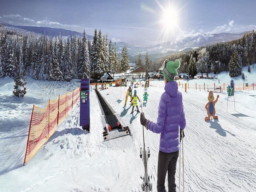 Tsjechië is een familievriendelijke wintersportbestemming.