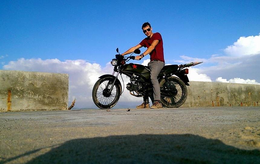 Met de motor over de Hai Van Pass bij Hoi An
