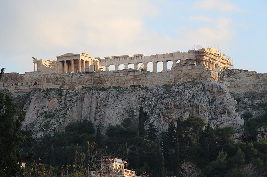 Een eeuwige bouwput zou je de Akropolis kunnen noemen
