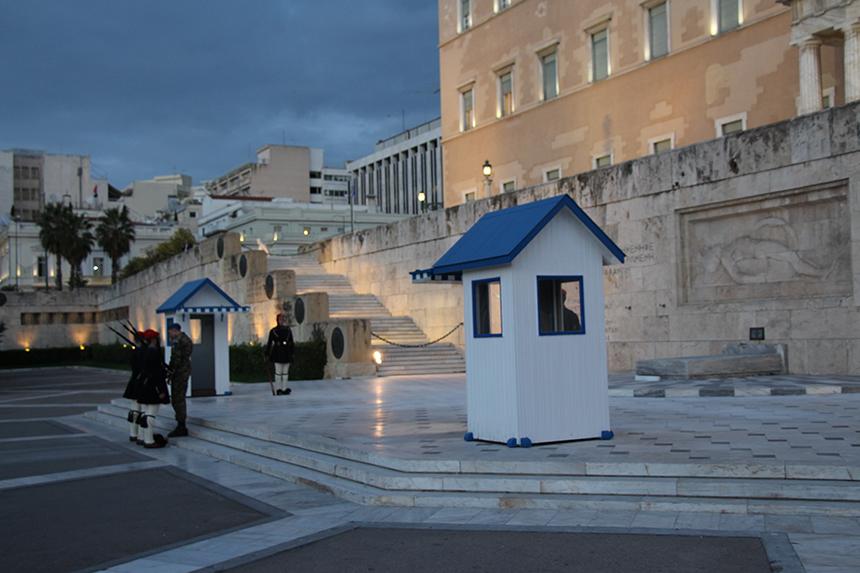 Grieks Parlement Athene