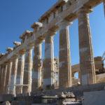 Dwalen door antiek Athene