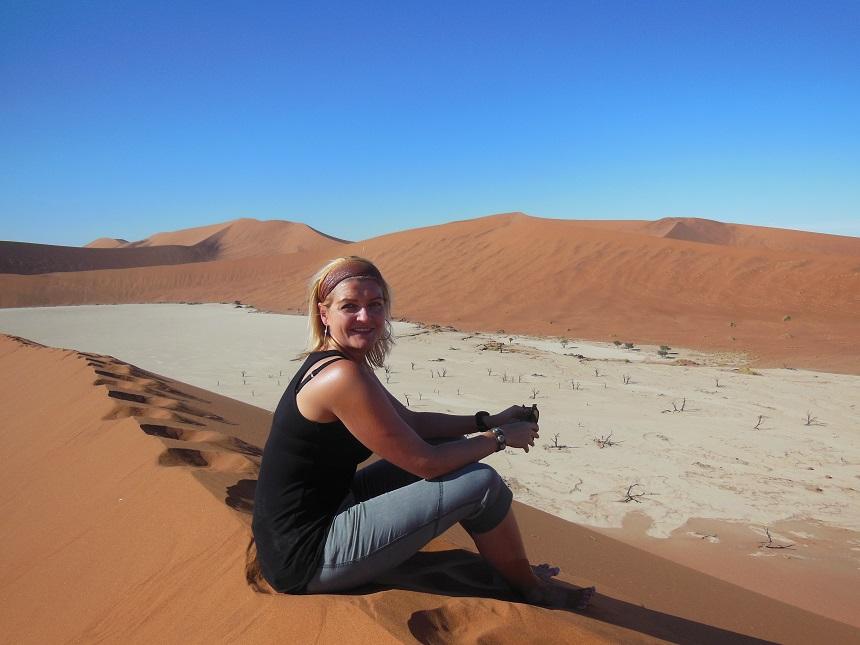 Minke op reis in Afrika, 2012.