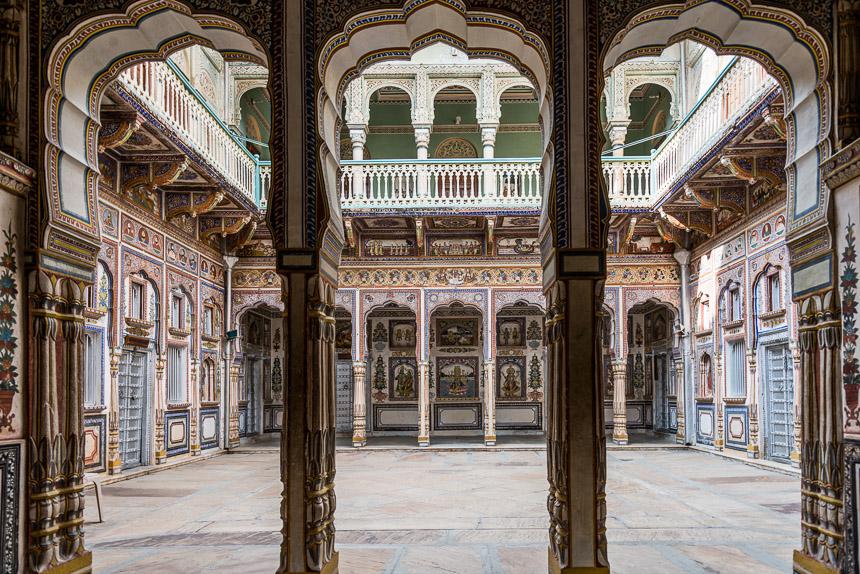 Nawalgarh - Poddar Haveli museum