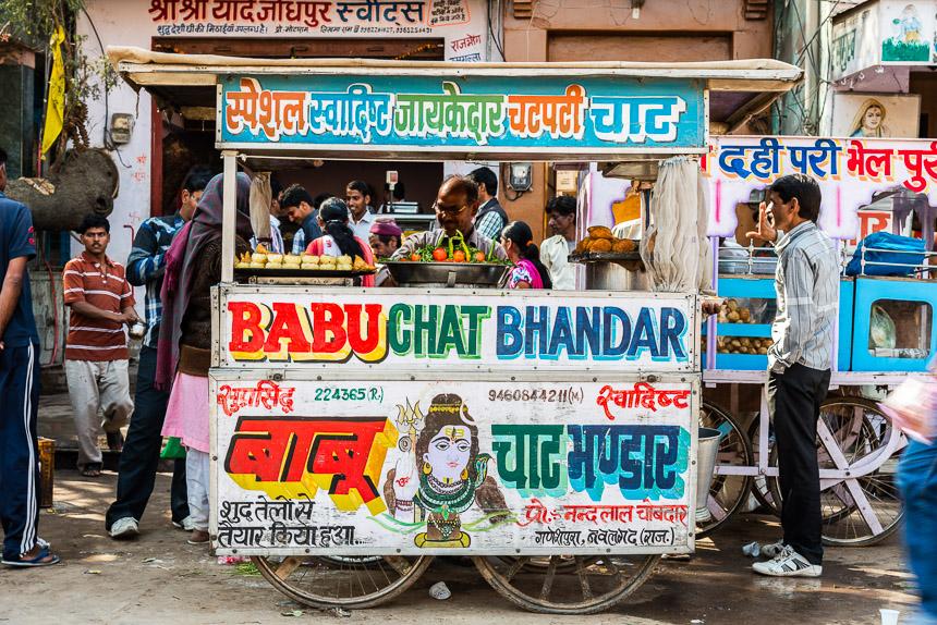 Nawalgarh - Street food verkoper