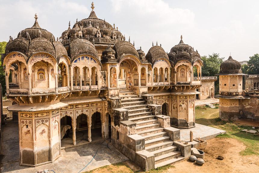 Ramgarh - Grafmonumenten van de familie Poddar
