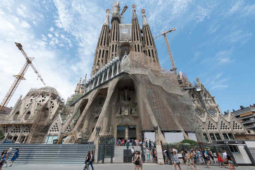 Dé wereldberoemde trekpleister van Barcelona: Sagrada Familia