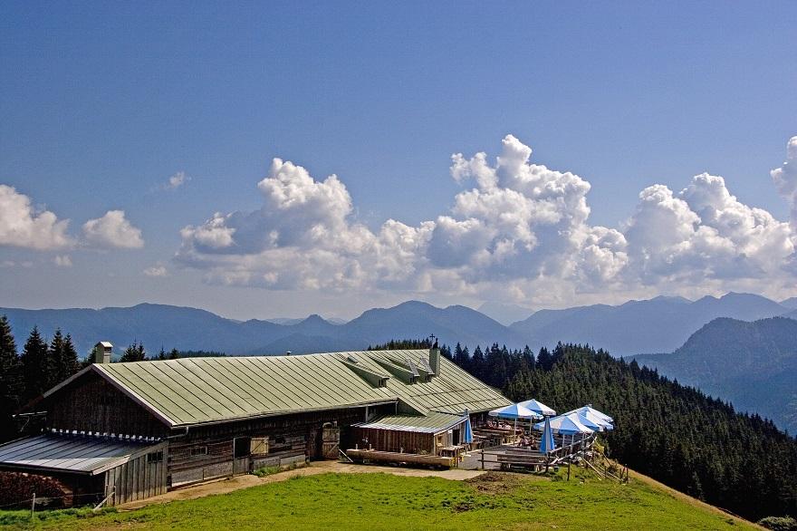 Vakantiehuis in de indrukwekkende bergen van Beieren