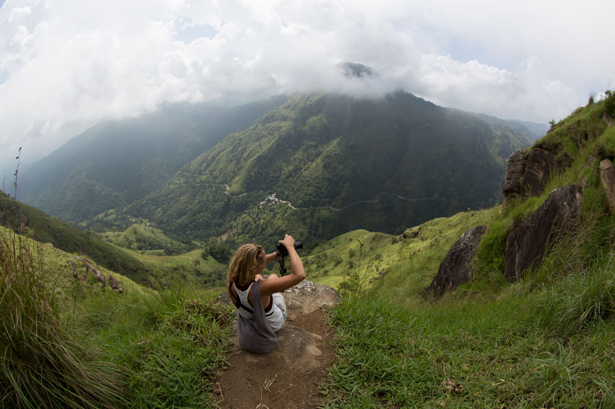 Ideale picknickplek op Little adams peak