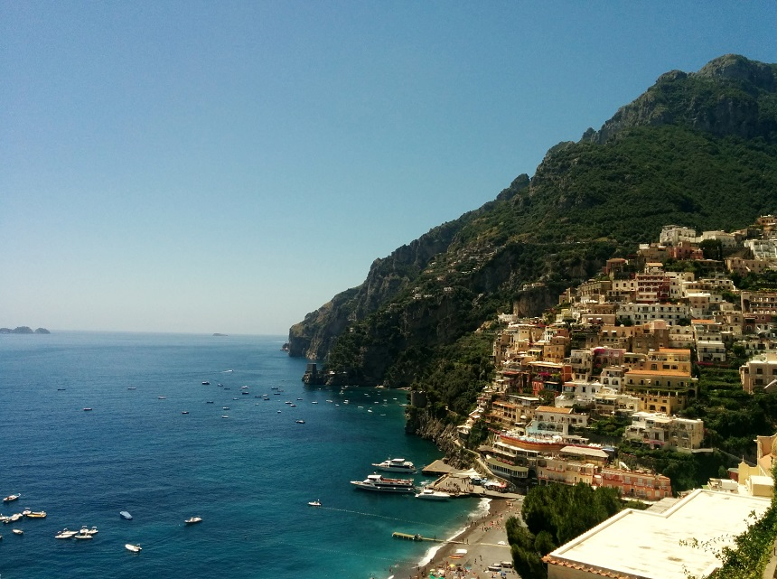 De schitterende Amalfikust