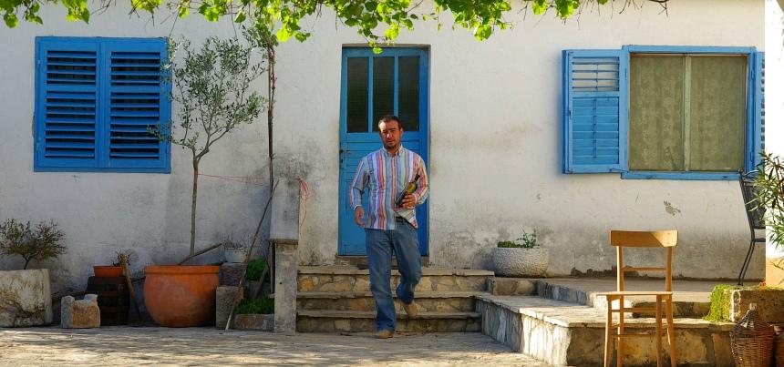 Streekgerechten proeven aan de Dalmatische kust. Alan Bibić verwelkomt me op zijn erf.