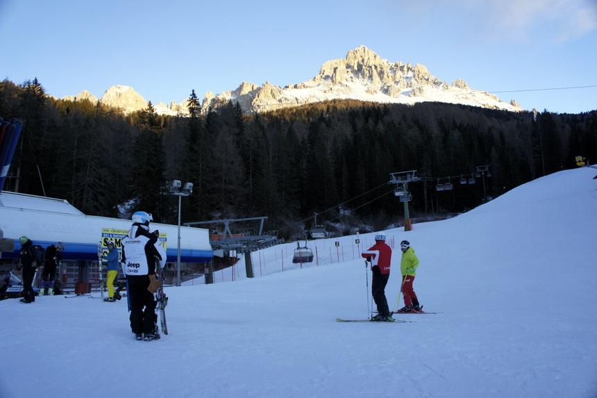 Obereggen is een deel van de Italiaanse Dolomieten. Prachtig.